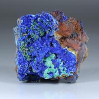 Azurite Olivenite & Malachite