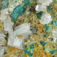 Cerussite & Brochantite