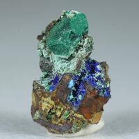 Cuprite Malachite Olivenite & Azurite