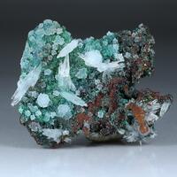 Aragonite Olivenite & Adamite