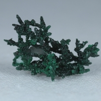 Copper Brochantite Malachite & Calcite