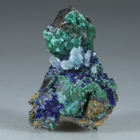 Azurite Cuprian Adamite & Aragonite