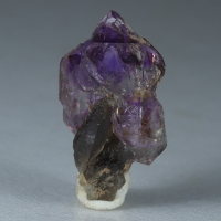 Amethyst & Smoky Quartz