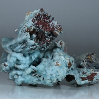 Smithsonite Adamite Aragonite & Goethite
