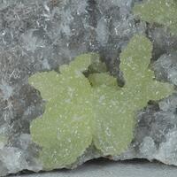 Adamite On Calcite