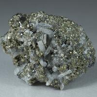 Tennantite Quartz & Pyrite