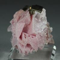 Rhodochrosite Psm Calcite & Pyrite