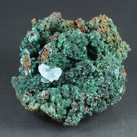 Cuprian Adamite Cuprite Aragonite & Malachite