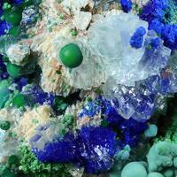 Conichalcite Azurite & Aragonite