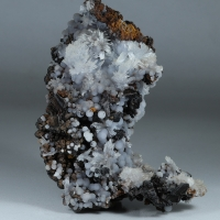 Goethite Psm Selenite Aragonite & Calcite