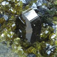 Epidote Andradite Magnetite & Diopside