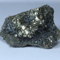 Jamesonite & Pyrite