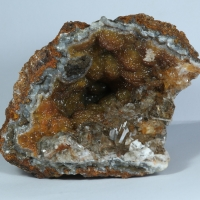 Smithsonite & Gypsum