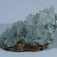 Aragonite & Cuprian Adamite