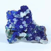Azurite Aragonite Cuprite & Malachite