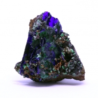Azurite Brochantite & Malachite