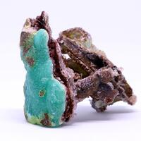 Smithsonite Gypsum & Limonite