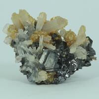 Sphalerite Quartz & Siderite