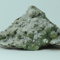 Cuprian Smithsonite & Calcite