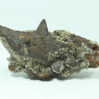 Goethite Psm Calcite & Adamite