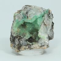 Cuprian Smithsonite Fluorite & Quartz