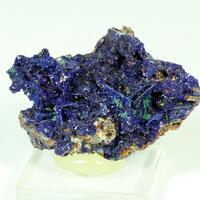 Azurite Malachite & Goethite Psm Gypsum