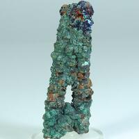Goethite Psm Calcite Malachite Cuprite & Azurite