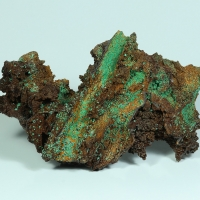 Malachite On Goethite Psm Gypsum