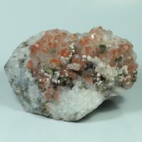 Quartz Hematite Dolomite & Chalcopyrite