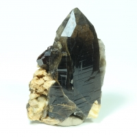 Smoky Quartz Spessartine & Feldspar