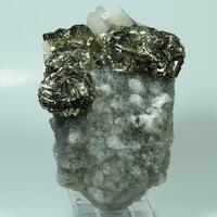 Pyrite Quartz & Calcite