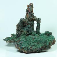 Goethite Malachite Aragonite & Azurite