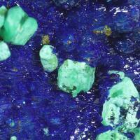 Azurite Cuprite & Malachite