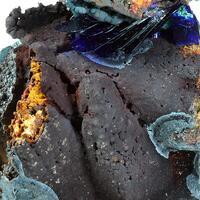 Azurite Malachite Goethite Psm Calcite