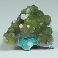 Smithsonite Rosasite & Calcite