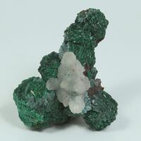 Malachite Psm Azurite Fluorite Calcite & Cerussite