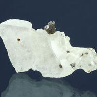 Sphalerite On Calcite