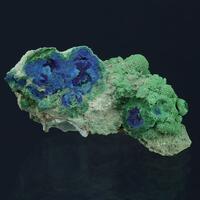 Conichalcite Psm Azurite & Arsenocrandallite