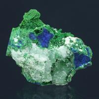 Conichalcite Azurite Dickite & Aragonite