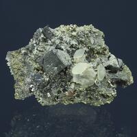 Bournonite & Calcite