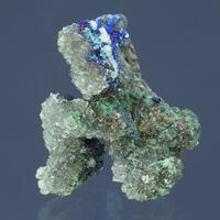 Aragonite Azurite Goethite & Calcite