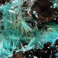 Aurichalcite Hemimorphite & Rosasite