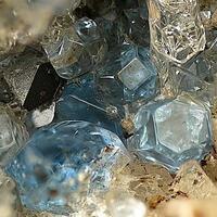 Haüyne & Magnetite