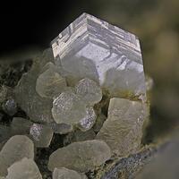 Phillipsite-K & Calcite