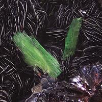 Zeunerite & Hematite