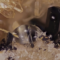 Fluorite Titanite Augite & Sanidine