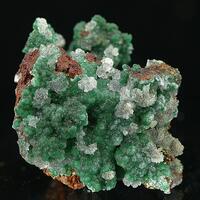 Cuprian Adamite & Hemimorphite