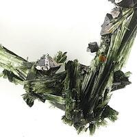 Magnetite On Actinolite