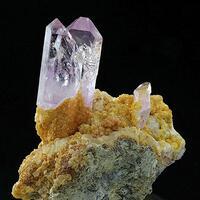 Amethyst Dolomite & Calcite