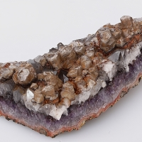 Quartz Amethyst & Calcite